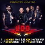 DIRKSCHNEIDER/BACK TO THE ROOTS TOUR PART II/plus special guest- koncert Plzeň