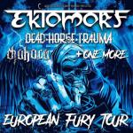 EKTOMORF (HU)/DEAD HORSE TRAUMA (USA), CHAKORA (DE)/- koncert Ostrava