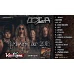 DOGA Hard werk tour 2018- 30 let- koncert Ostrava
