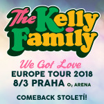 THE KELLY FAMILY- koncert Praha