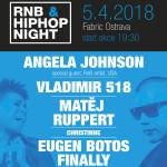 EUGEN BOTOS FINALLY/ANGELA JOHNSON / VLADIMIR 518 / MATĚJ RUPPERT/CHRISTINA JAY / DJ AKVAMEN