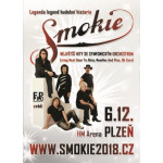 SMOKIE - The Symphony Tour 2018- koncert Plzeň