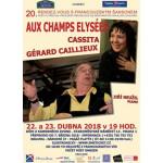 Aux Champs Elysées:  20. rendez-vous s francouzským šansonem- Praha