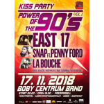 The Power of 90s: East 17, La Bouche, Snap! feat. Penny Ford- Brno