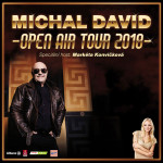 Michal David OPEN AIR TOUR 2018 - koncert ve Šternberku