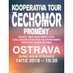 ČECHOMOR/PROMĚNY/KOOPERATIVA TOUR- koncert v Ostravě