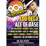90s EXPLOSION OPEN-AIR FESTIVAL PRAHA 2019 festival nejlepších interpretů devadesátých let Lou Bega, Ace of Base, East 17, Snap!, Mr. President a mnoho dalších - Praha