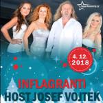 VÁNOČNÍ KONCERT INFLAGRANTI/HOST: JOSEF VOJTEK/-  Pardubice