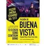 Pasion de Buena Vista (Cuba)- Brno