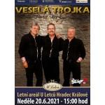 Veselá Trojka Pavla Kršky- koncert Hradec Králové