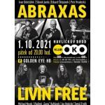 Abraxas, Livin Free / Golden_eye.hb- koncert Havlíčkův Brod