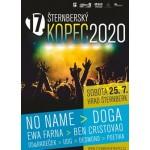 Šternberský kopec- festival Šternberk- NO NAME, Doga, EWA Farna, Ben Cristovao, UDG, Desmod a další