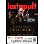 Koncert Katapult 45let Nostalgia Tour- Boskovice
