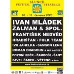 Festival Slunce Strážnice 2020- Strážnice- Ivan Mládek, Žalman & spol., František Nedvěd, Hradišťan, Folk Team, Ivo Jahelka a další