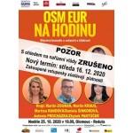 Osm euro na hodinu- Olomouc