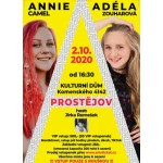 Koncert Adéla Zouharová, Annie Camel, Jirka Remešek- Prostějov