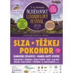 Bezděkovský levandulový festival 2021- Úsov- Slza, Těžkej Pokondr, Rangers(Plavci) a další