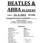 Beatles a ABBA klasicky- Pardubice
