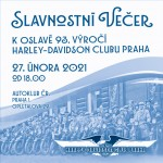 SLAVNOSTNÍ VEČER/HARLEY-DAVIDSON CLUBU PRAHA/- Praha