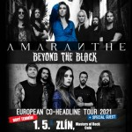 AMARANTHE/BEYOND THE BLACK/- Zlín