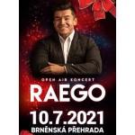 Raego - open air koncert- Brno