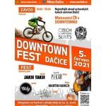 DOWNTOWN Fest Dačice 2021- festival Dačice- kapela Pekař, Jaksi Taksi, UDG a další