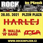 ROCK IN PLZEŇ/HARLEJ+ DOGA + WALDA GANG/- koncert v Plzni
