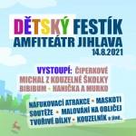 DĚTSKÝ FESTÍK JIHLAVA- Veselý festival pro děti a rodiče- Jihlava- Michal z kouzelné školky, Čiperkové, Hanička a Murko, Bibibum