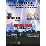 Vysočina Revival FEST 2021- festival Modlíkov- AC/DS (AC/DC revival), Second hand Kabát revival, Divokej Bill revival a další