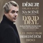 David Deyl- koncert v Brně- Děkuji! - Tour 2021