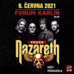 NAZARETH- koncert v Praze- TATTOOED ON MY BRAIN TOUR 2020