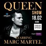 QUEEN SHOW/STARRING/MARC MARTEL- Praha
