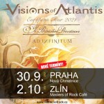 VISIONS OF ATLANTIS/Special guests: YE BANISHED PRIVATEERS, AD INFINITUM/- Praha