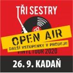 TŘI SESTRY - OPEN-AIR/VINYL TOUR 2021- host Synové Výčepu- koncert v Kadani