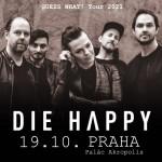 DIE HAPPY- koncert v Praze