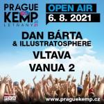 DAN BÁRTA & ILLUSTRATOSPHERE/VLTAVA, VANUA 2/PRAGUE KEMP LETŇANY- Praha