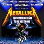 METALLICA S&M TRIBUTE SHOW + symfonický orchester- koncert v Bratislavě