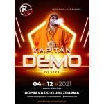 Kapitán Demo- koncert Zaječí