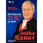 Jožka Černý s cimbálovou muzikou - Koncert pro Miloše- Čelákovice