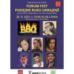 Forum fest. Koncert pro Ukrajinu- Praha