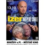 Zdeněk Izer - Na plný coole (vstupenky na balkon)- Benešov nad Ploučnicí