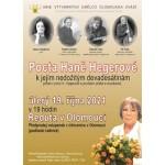 Pocta Haně Hegerové- Olomouc