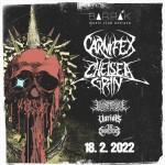 CARNIFEX, CHELSEA GRIN/LORNA SHORE, VARIALS/THE CONVALESCENCE- Ostrava