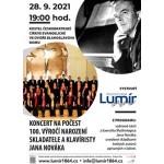 Koncert na počest Jana Nováka Brno- Brno