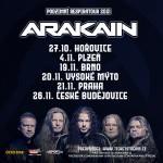 ARAKAIN- RESPIRATOUR 2021- koncert Plzeň