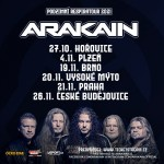 ARAKAIN- RESPIRATOUR 2021- koncert Brno
