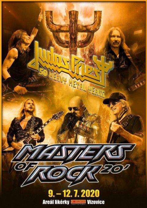 Masters of Rock 2020- JUDAS PRIEST, Nightwish, Sepultura, Anthrax, Testament, Amon Amarth a další- Vizovice -Areál likérky Vizovice