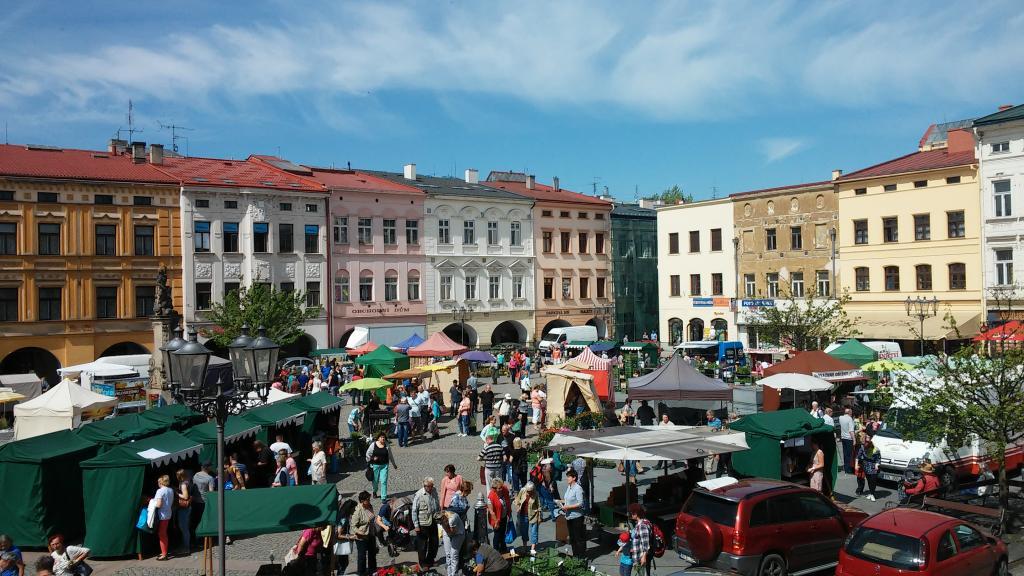 Beskydské farmářské trhy- červenec 2020- Frýdek-Místek -náměstí Svobody v Místku